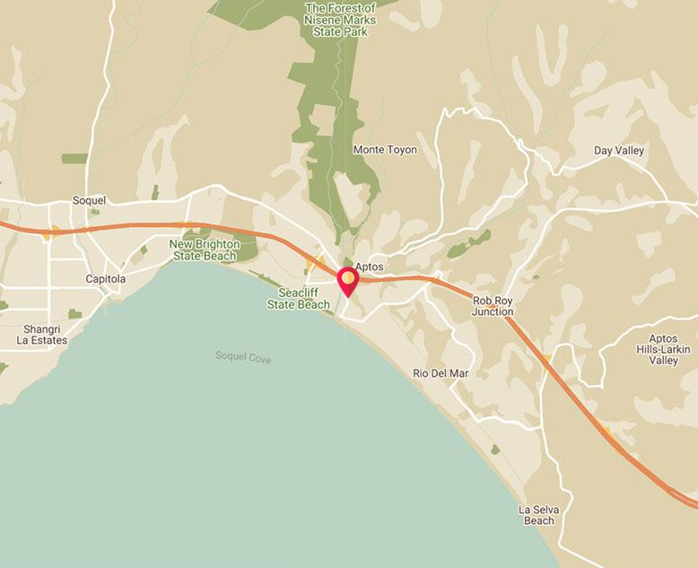 Rio Sands Hotel - 116 Aptos Beach Dr, Aptos, California 95003